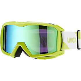 UVEX flizz LM Goggle Junior applegreen mat